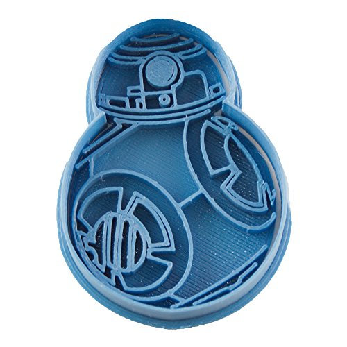 Cuticuter Star Wars BB8 Cortador de Galletas, Azul, 8x7x1.5 cm