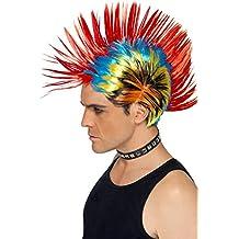 Smiffys - Peluca para disfraz de adulto