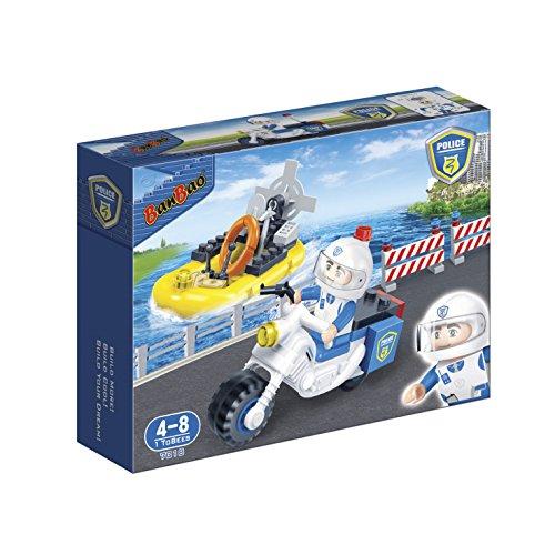 BanBao 7018 - Polizei Motor und Boot, Konstruktionsspielzeug Preisvergleich