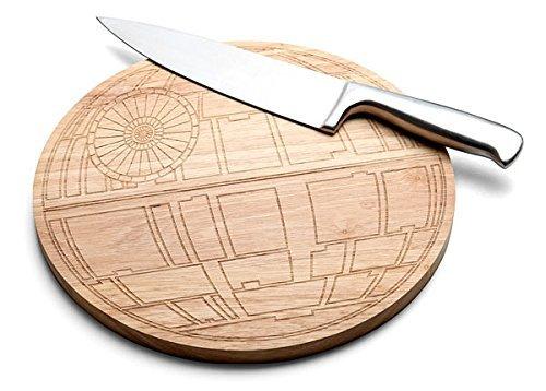 STAR WARS DEATH STAR Wood Cutting Board by Lucas Films