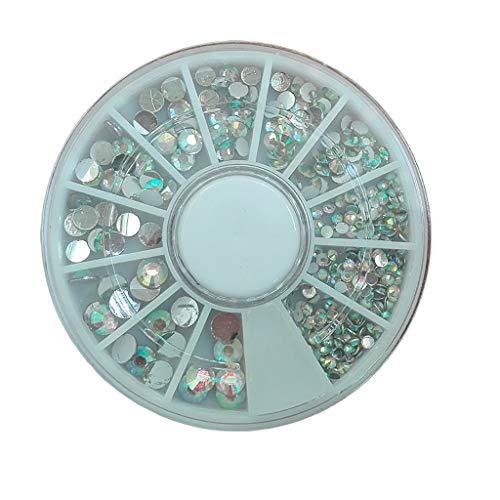 Nagelkristalle 1box Nagel Kunst Strass Strasssteine Edelsteine Gemischt Nagel Diamant Stein für Nail Art Kleidung Schuhe Taschen Handwerk