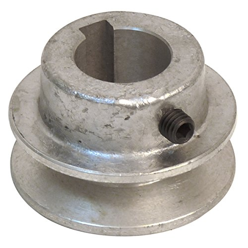 Fartools 117230 Riemenscheibe aus Aluminium, Durchmesser 5 cm, 24-mm-Bohrung