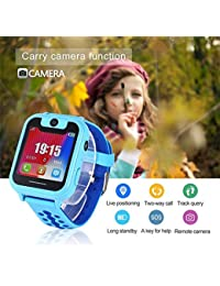 Mimanou Orologio Smart Kids Phone Phone Call Anti-Perso SOS Tracker Sport Watch Smartwatch