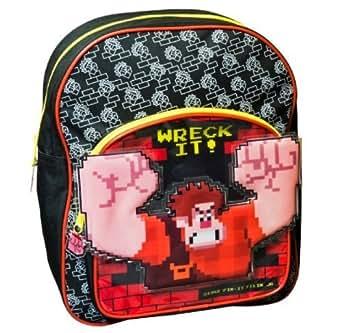 DISNEY WRECK IT RALPH FIX IT FELIX 3D JUNIOR SCHOOL BACKPACK RUCKSACK BAG 255865