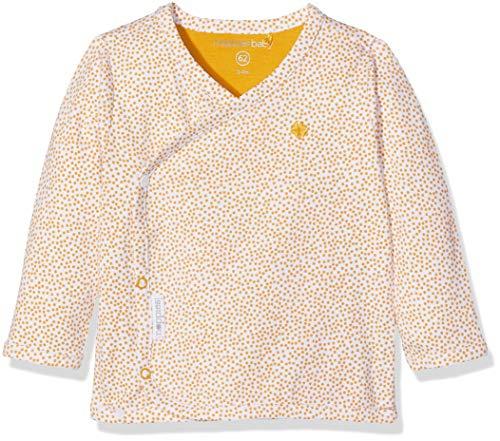 Noppies Unisex Baby U Tee ls Hannah AOP T-Shirt, Gelb (Honey Yellow C036), 68 -