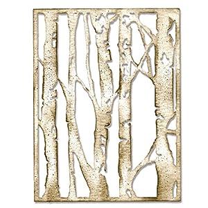 Sizzix Thinlits Matrix 660 994 strumenti per la lavorazione di Tim Holtz Negozi di hobbistica betulla, grigio