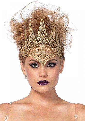 Königin Elsa Kostüm Damen - Krone aus Latex von Leg Avenue