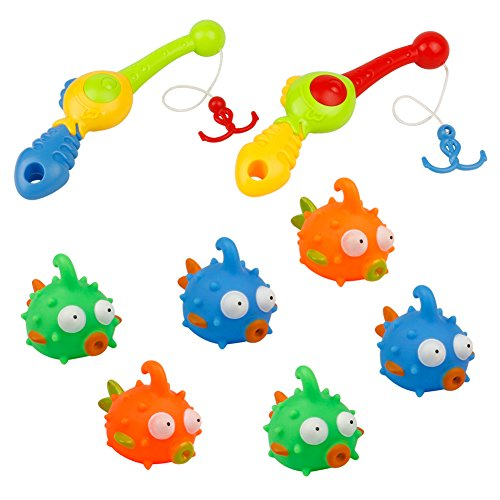 Amazing bath toys! My kids absolutely love playing with these :) makes bathtime so much more fun. Very well made and will last a long time I'm very pleased!
