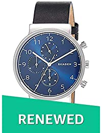(Renewed) Skagen Ancher Analog Blue Dial Mens Watch - SKW6417#CR
