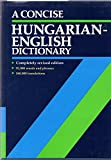 A Concise Hungarian-English Dictionary
