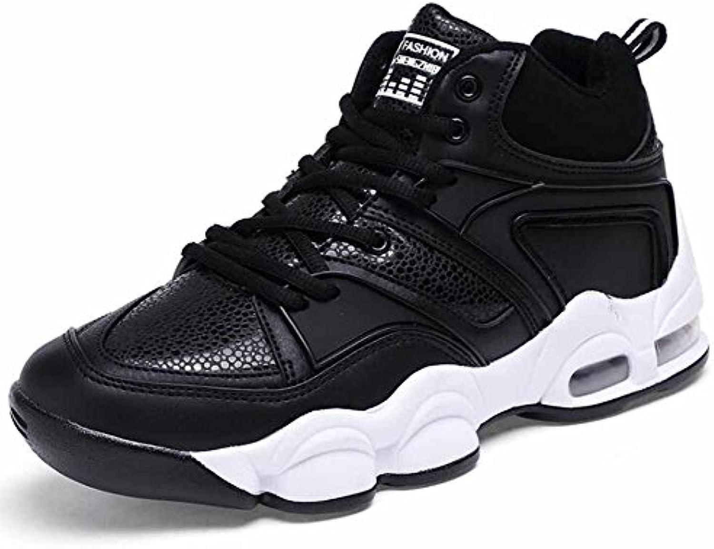 Zapatos De Basquetbol Hombres Respirable Zapatos Deportivos Otoño Invierno Nuevo Juventud Cima Mas Alta Cómodo  -
