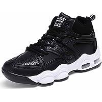 Zapatos De Basquetbol Hombres Respirable Zapatos Deportivos Otoño Invierno Nuevo Juventud Cima Mas Alta Cómodo Zapatos Para Correr ( Color : Black , Size : 44 )