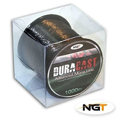 brown duracast advanced mono fishing line 1000m from ngt