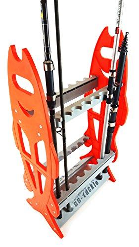 DD-Tackle Angel Rutenständer für 16 Ruten Rutenablage Rutenhalter Standruten