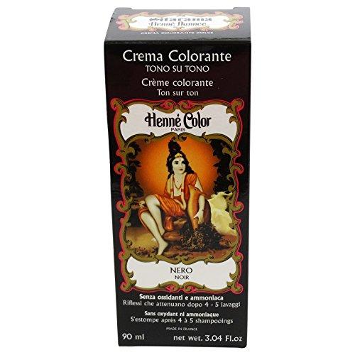 Sitarama Henne Crema Colorante Nero Tintura Naturale EcoBio