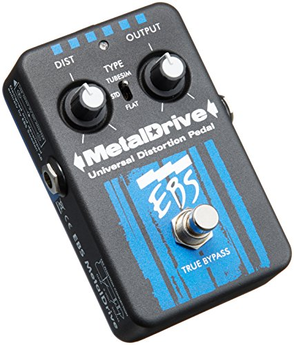 EBS EBSMT MetalDrive High Gain - Pedal de distorsión (9 V)