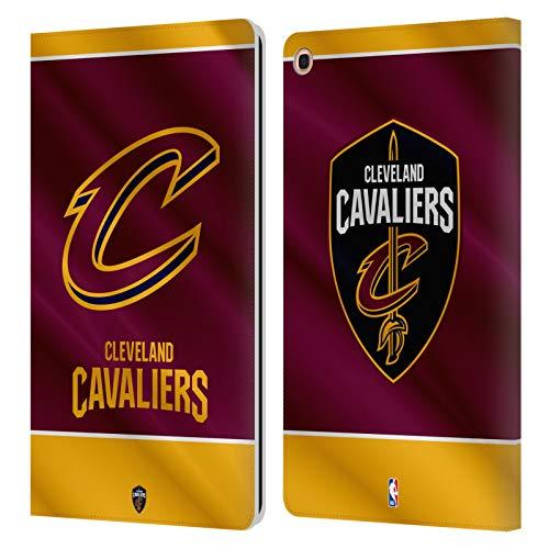 Head Case Designs Offizielle NBA Banner 2019/20 Cleveland Cavaliers Leder Brieftaschen Huelle kompatibel mit Samsung Galaxy Tab A 10.1 2019 -