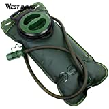 West Biking Bicycle Camelback Water Bag 2L Large Capacity Tpu Camping Traveling Cycling Water Bag Bladder Sport Backpack - Green