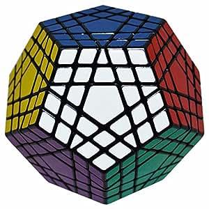 LSMY Megaminx 5×5 Puzzle-Würfel Puzzle Würfel Spielzeug Schwarz