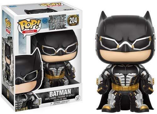 DC- Figura de Vinilo Batman, colección Justice League (Funko 13485)