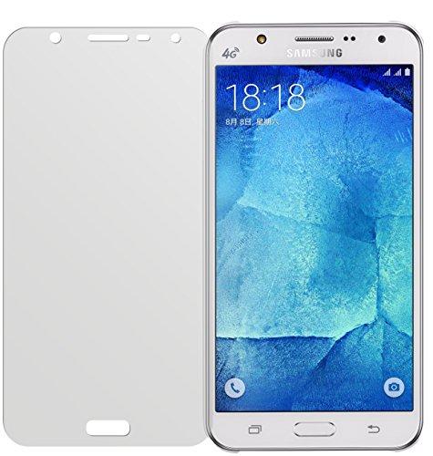 dipos I 2X Schutzfolie matt passend für Samsung Galaxy J7 Folie Displayschutzfolie