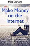 Make Money on the Internet: 2 Legit Ways to Make Money While Working at Home… Start a Shopify or Youtube Affiliate Part-Time Business (English Edition)