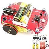 Bluelover D2-2 Intelligent Tracking Car Kit 3V Kleine Smart Auto At89C2051 Diy Kit
