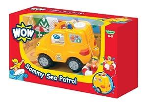 WOW Toys - Sammy Sea Patrol, Coche de Juguete (10322)
