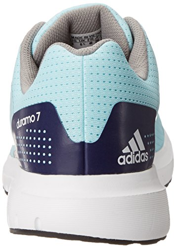 Adidas Duramo 7 Synthétique Chaussure de Course Blue/White/Midnight Indigo Blue