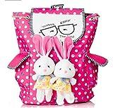 #9: Sundaram Girls'S Backpack Bunny Bag (Multicolor,10X23X38 Cm)