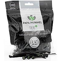 Premium Golf Tees - 54mm - 120 Stück - 100% Bambus