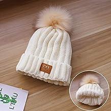 LybHat Sombrero Mujer Invierno Marea Lana Sombrero otoño e Invierno cálido  a Prueba de Viento Sombrero 8fbb1f50916