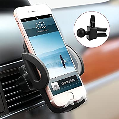 Car Mount, Avolare® Car Air Vent Phone Holder, Universal Upgraded Version Car Phone Cradle Adjustable High Quality Phone Holder for Hands Free Driving, Compatible with iPhone SE 7 7 Plus 6s 6 Plus 5s 5 4s 4, Samsung Galaxy S7 S6 S5 Note 5, LG Nexus Snoy H