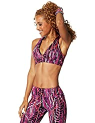 Zumba Fitness Repstyle Reversible V Soutien-gorge Femme