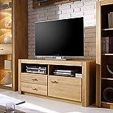 Pharao24 TV Unterschrank aus Asteiche hell geölt modern