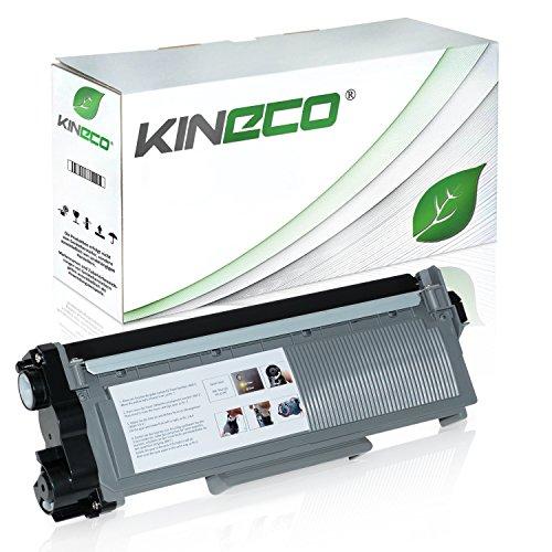 Kineco Toner kompatibel für Brother TN-2320 TN2320 TN-2310 für Brother MFC-L2700DW, DCP-L2520DW, HL-L2340DW, HL-L2300D, DCP-L2500D, HL-L2360DN - Schwarz 2.600 Seiten