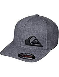 Quiksilver Flexfit Cap Final Dark Grau-grau
