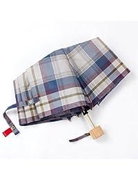LWFB Paraguas / plegable / a cuadros / a prueba de viento / portátil / Paraguas