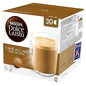 NESCAFÉ Dolce Gusto Café Au Lait - Pack of 3 (Total 90 Capsules, 90 servings)