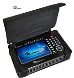 Clarke-Tech CT Triple 2013 - Medidor de alta definición y resolución DVB-S2, S + DVB-T2, T + DVB-C (analizador de espectros, cálculo de ángulos de elevación y azimut, soporte PVR y USB)