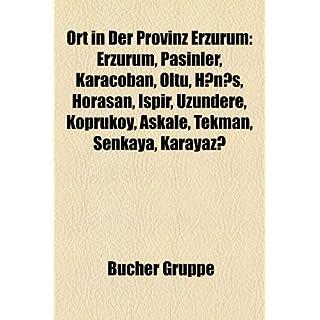 Ort in Der Provinz Erzurum: Erzurum, Pasinler, Karaoban, Oltu, Hns, Horasan, Ispir, Uzundere, Kprky, Akale, Tekman, Enkaya, Karayaz