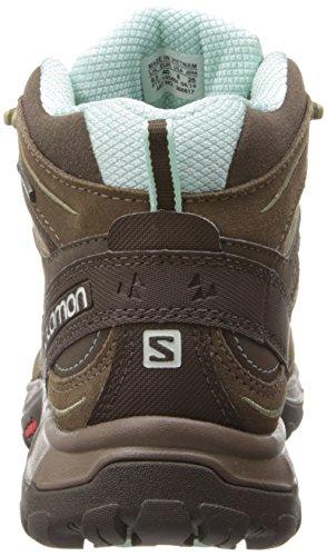Salomon Ellipse MID LTR GTX W, Scarpe sportive, Donna Burro/Br/Bl