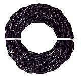 Tibelec 73920-0 hilos trenzados en Negro