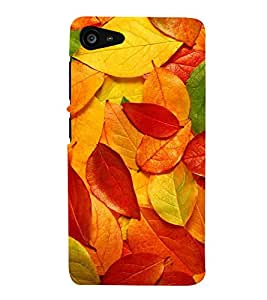 HiFi Designer Phone Back Case Cover Lenovo ZUK Z2 :: Lenovo Zuk Z2 Plus ( Colorful Leaf Paint Shade Look )