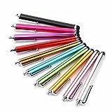 Haodou 10 Stück Touch Pen Universal Kapazitive Stylus Android Touchscreen Pen Set für Zeichnung Iphone Ipad Samsung Tablet Laptop und alle Touchscreen