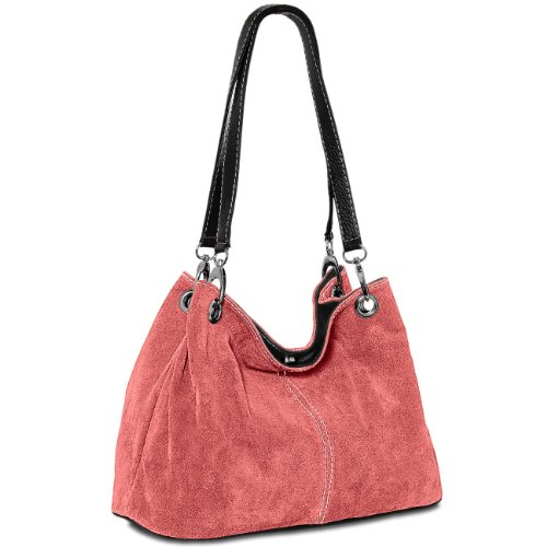 CASPAR Taschen & Accessoires, Borsa a spalla donna Koralle