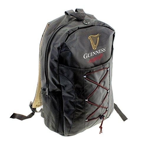 Guinness Livery Rucksack schwarz (Tasche Unterschrift Schulter)