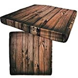 Stuhlkissen Holz Optik von JEMIDI Sitzkissen Sitz Kissen Polster Stuhlauflage