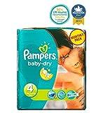 Pampers Baby-Dry Windeln Größe 4 Monatspackung - 174 Windeln - Packung mit 2