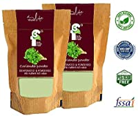 3F Spray Dried Coriander Powder 125 Gm Each (Pack of 2 Total 250 GMS), Gluten Free, No Artificial Flavour or preservatives